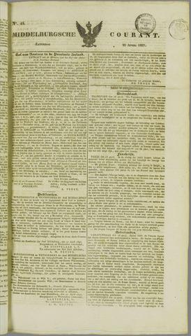 Middelburgsche Courant 1837-04-22