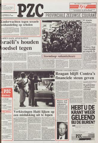 Provinciale Zeeuwse Courant 1988-01-18