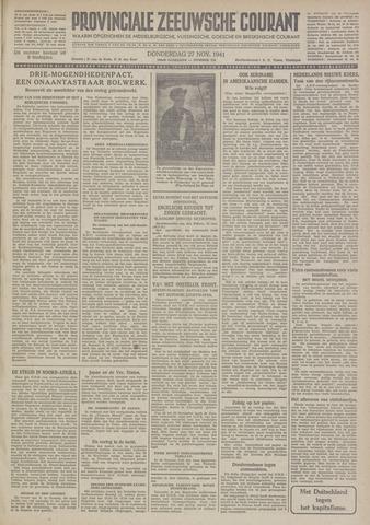 Provinciale Zeeuwse Courant 1941-11-27