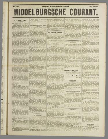 Middelburgsche Courant 1925-09-04