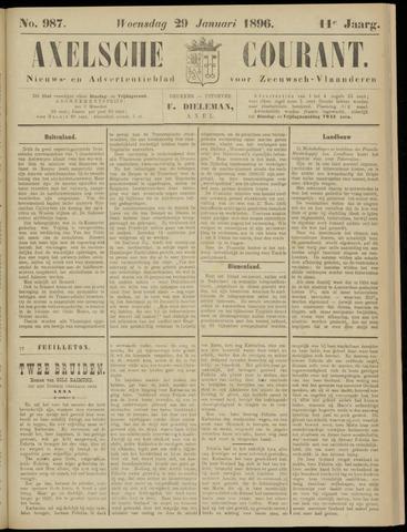 Axelsche Courant 1896-01-29