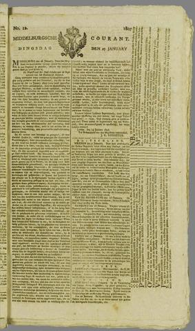 Middelburgsche Courant 1807-01-27