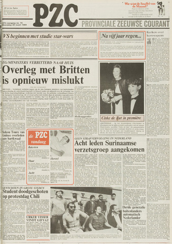Provinciale Zeeuwse Courant 1984-03-28