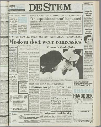 de Stem 1985-09-09