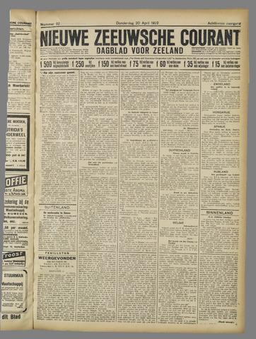 Nieuwe Zeeuwsche Courant 1922-04-20