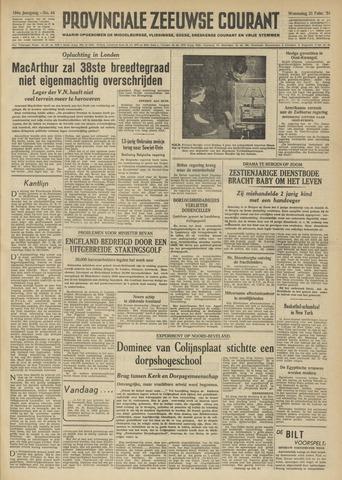Provinciale Zeeuwse Courant 1951-02-21