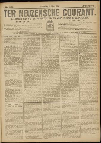 Ter Neuzensche Courant. Algemeen Nieuws- en Advertentieblad voor Zeeuwsch-Vlaanderen / Neuzensche Courant ... (idem) / (Algemeen) nieuws en advertentieblad voor Zeeuwsch-Vlaanderen 1914-05-05
