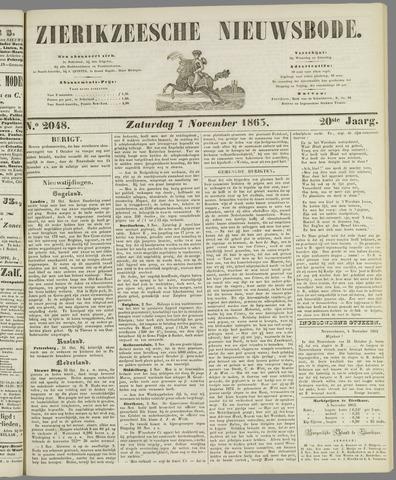 Zierikzeesche Nieuwsbode 1863-11-07