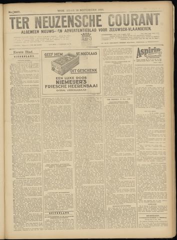 Ter Neuzensche Courant. Algemeen Nieuws- en Advertentieblad voor Zeeuwsch-Vlaanderen / Neuzensche Courant ... (idem) / (Algemeen) nieuws en advertentieblad voor Zeeuwsch-Vlaanderen 1930-11-19
