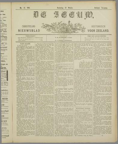 De Zeeuw. Christelijk-historisch nieuwsblad voor Zeeland 1898-10-27