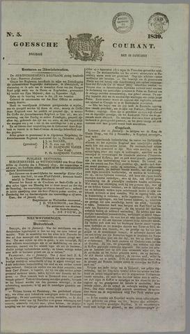 Goessche Courant 1839-01-18