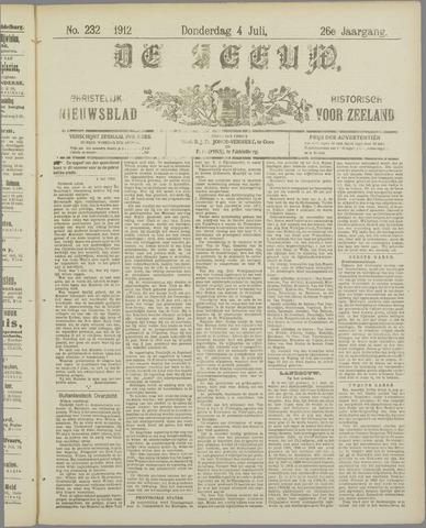 De Zeeuw. Christelijk-historisch nieuwsblad voor Zeeland 1912-07-04