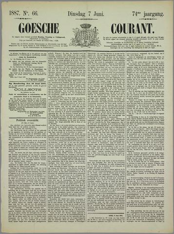 Goessche Courant 1887-06-07