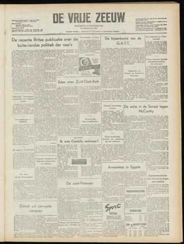 de Vrije Zeeuw 1954-11-10