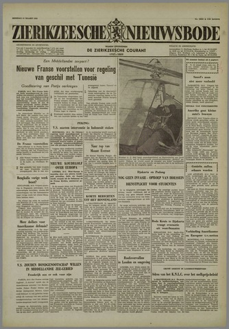 Zierikzeesche Nieuwsbode 1958-03-11