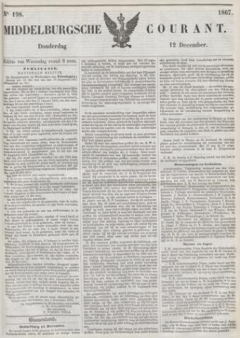 Middelburgsche Courant 1867-12-12
