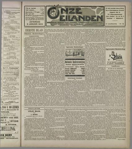 Onze Eilanden 1923