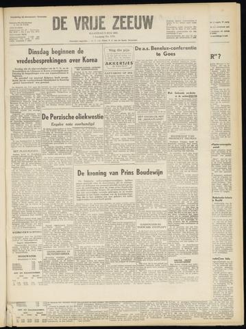 de Vrije Zeeuw 1951-07-09