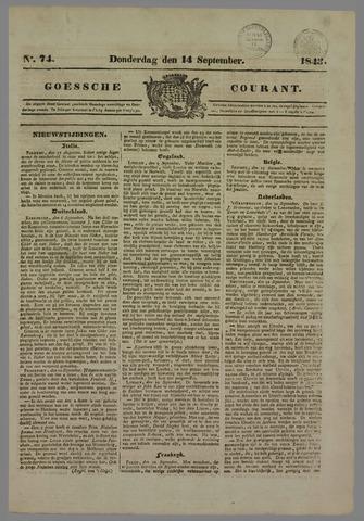 Goessche Courant 1843-09-14