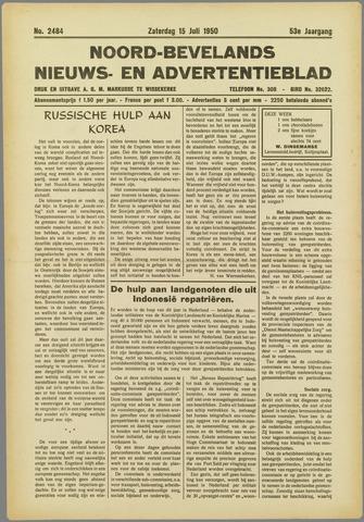 Noord-Bevelands Nieuws- en advertentieblad 1950-07-15