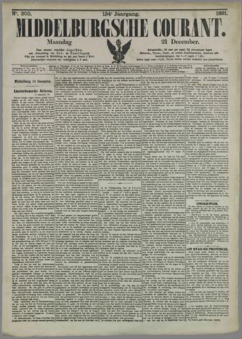 Middelburgsche Courant 1891-12-21