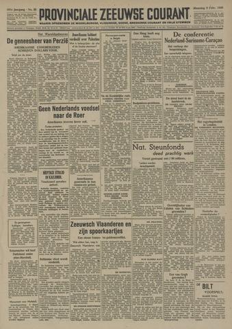 Provinciale Zeeuwse Courant 1948-02-09