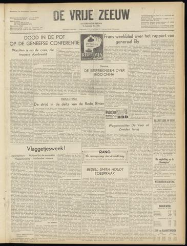 de Vrije Zeeuw 1954-05-29