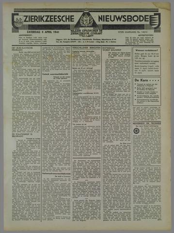 Zierikzeesche Nieuwsbode 1941-04-05