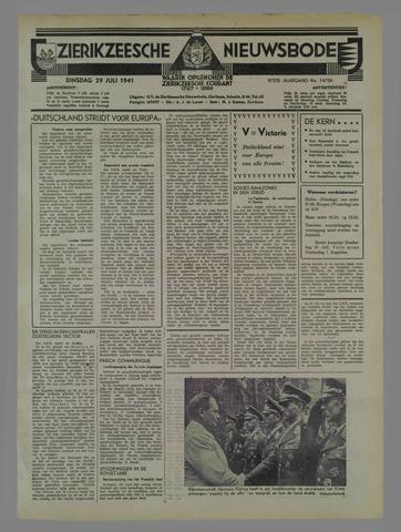 Zierikzeesche Nieuwsbode 1941-07-25