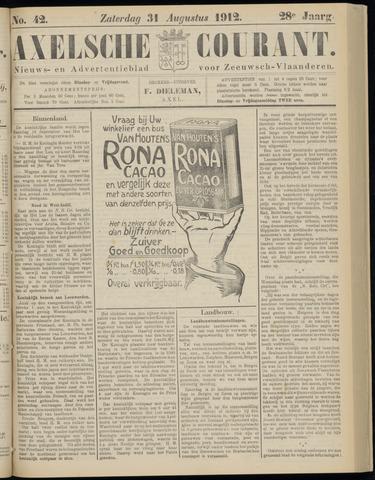 Axelsche Courant 1912-08-31