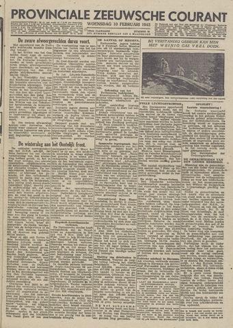 Provinciale Zeeuwse Courant 1943-02-10