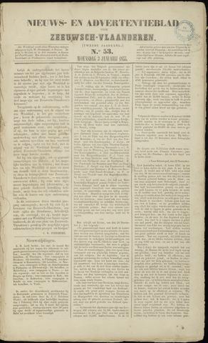 Ter Neuzensche Courant. Algemeen Nieuws- en Advertentieblad voor Zeeuwsch-Vlaanderen / Neuzensche Courant ... (idem) / (Algemeen) nieuws en advertentieblad voor Zeeuwsch-Vlaanderen 1855