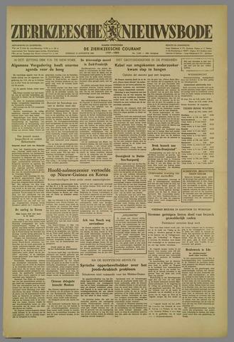 Zierikzeesche Nieuwsbode 1952-08-19