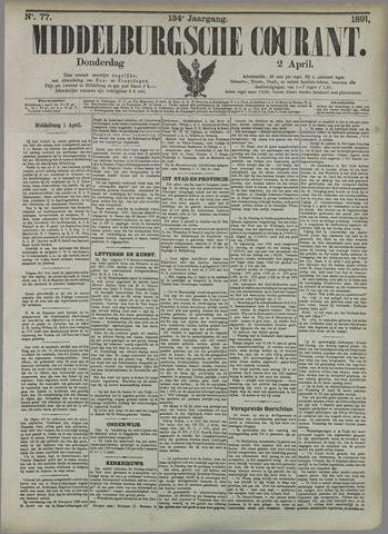 Middelburgsche Courant 1891-04-02