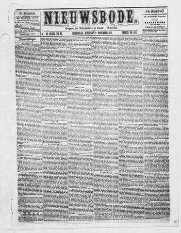 Sheboygan Nieuwsbode 1859-11-09