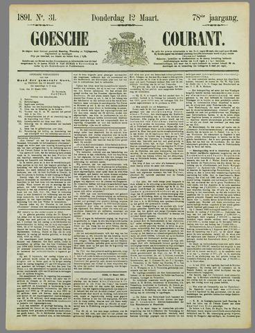 Goessche Courant 1891-03-12