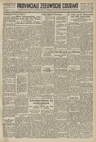 Provinciale Zeeuwse Courant 1946-08-03