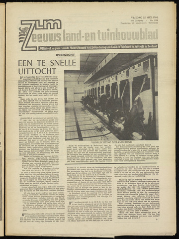 Zeeuwsch landbouwblad ... ZLM land- en tuinbouwblad 1964-05-22