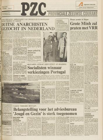 Provinciale Zeeuwse Courant 1975-04-28