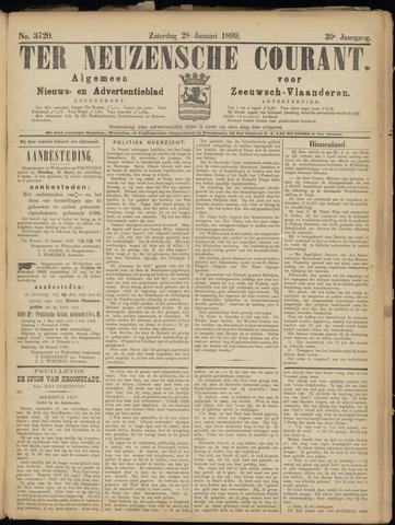 Ter Neuzensche Courant. Algemeen Nieuws- en Advertentieblad voor Zeeuwsch-Vlaanderen / Neuzensche Courant ... (idem) / (Algemeen) nieuws en advertentieblad voor Zeeuwsch-Vlaanderen 1899-01-28