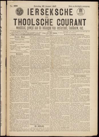 Ierseksche en Thoolsche Courant 1917-01-20