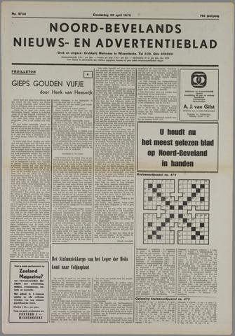 Noord-Bevelands Nieuws- en advertentieblad 1976-04-22