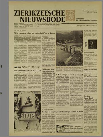 Zierikzeesche Nieuwsbode 1970-04-16