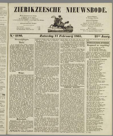 Zierikzeesche Nieuwsbode 1865-02-11