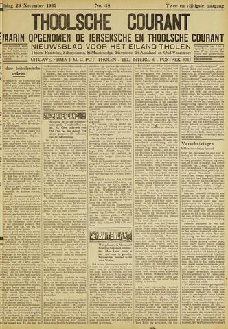 Ierseksche en Thoolsche Courant 1935-11-29