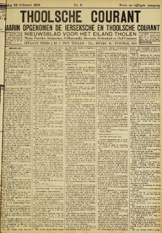 Ierseksche en Thoolsche Courant 1935-02-22