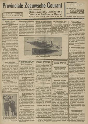 Provinciale Zeeuwse Courant 1941-01-20