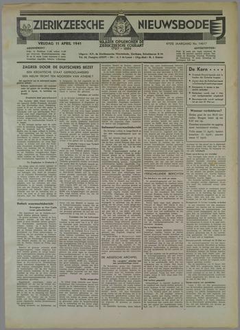 Zierikzeesche Nieuwsbode 1941-04-11