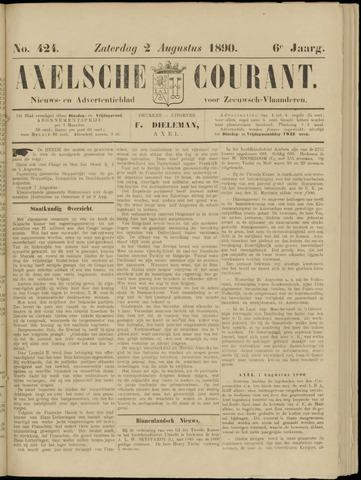 Axelsche Courant 1890-08-02