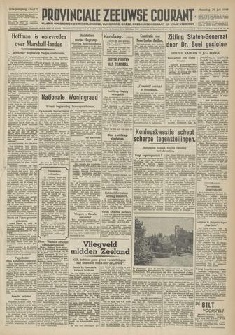 Provinciale Zeeuwse Courant 1948-07-26